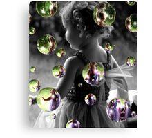 Tiny Bubbles Canvas Print