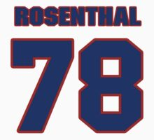National football player Mike Rosenthal jersey 78 by imsport