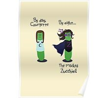 Courgette and The Masked Zucchini: double-life of a vegetable superhero Poster