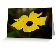 Thunbergia - Blackeyed Susan Greeting Card
