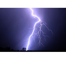 powerful bolt Photographic Print