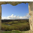 The View from Warkworth Castle, Northumberland, England by trish725