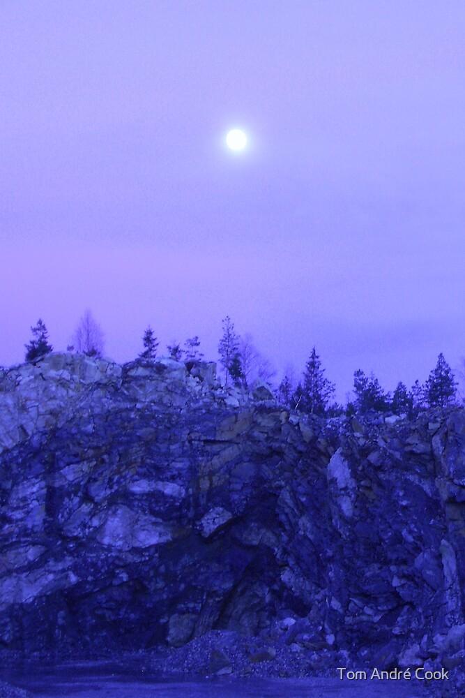 Moonshine rocks by Tom André Cook