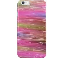 Fluid Pink Abstract Pattern iPhone Case/Skin
