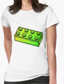 2 x 4 Brick  Womens Fitted T-Shirt