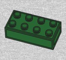 2 x 4 Brick One Piece - Long Sleeve