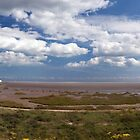 Pegwell Bay Panorama by John Gaffen