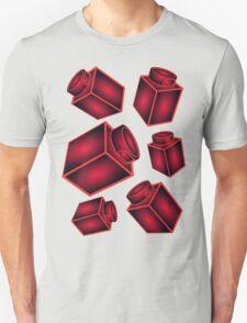 1 x 1 Bricks (AKA Falling Bricks)  Unisex T-Shirt