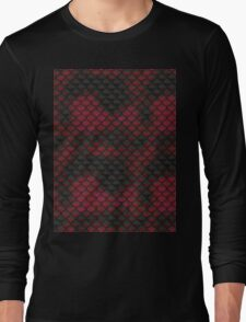 Snake Skin Texture 2 Long Sleeve T-Shirt