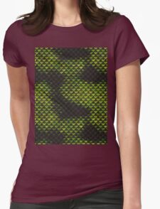 Snake Skin Texture 3 Womens Fitted T-Shirt