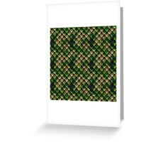 Snake Skin Texture 4 Greeting Card