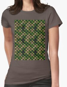 Snake Skin Texture 4 Womens Fitted T-Shirt