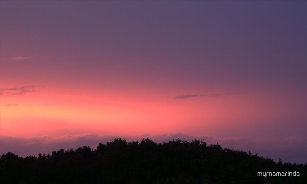 Fairy sunset by myrnamarinda