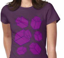 1 x 1 Bricks (AKA Falling Bricks)  Womens Fitted T-Shirt