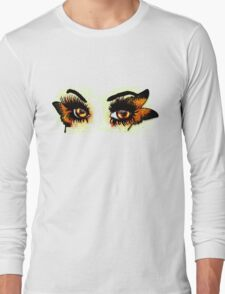 Brown eyes with butterfly T-Shirt