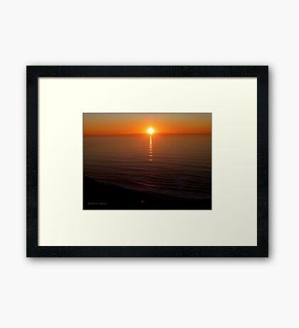 San Francisco Sunset 1424 Framed Print