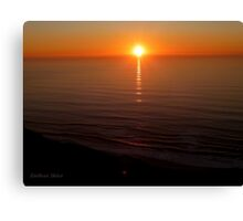San Francisco Sunset 1424 Canvas Print