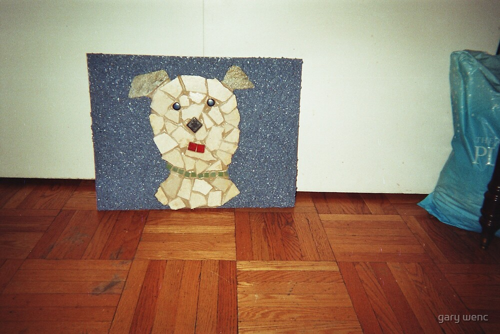 doggie mosaic by gary wenc