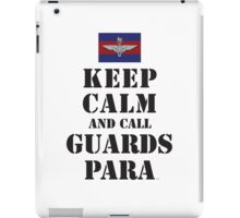 KEEP CALM AND CALL GUARDS PARA iPad Case/Skin