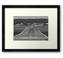 The Red Arrows Take Off - Wheels Up Framed Print