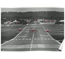 The Red Arrows Take Off - Wheels Up Poster