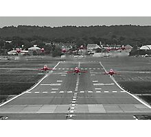 The Red Arrows Take Off - Wheels Up Photographic Print