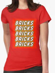 BRICKS BRICKS BRICKS BRICKS BRICKS Womens Fitted T-Shirt