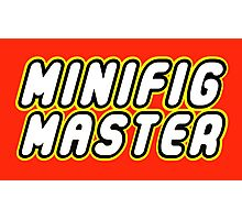 MINIFIG MASTER Photographic Print