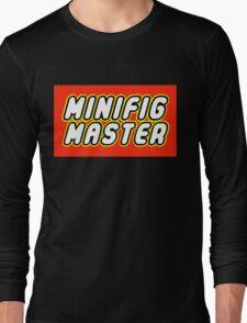 MINIFIG MASTER Long Sleeve T-Shirt