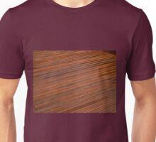 Beautiful mahogny hardwood deck floor Unisex T-Shirt