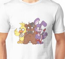 Freddy and the Gang Unisex T-Shirt