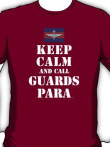 KEEP CALM AND CALL GUARDS PARA T-Shirt