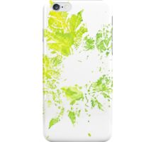Imprint of Maple Leaf 3 iPhone Case/Skin