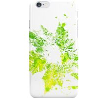 Imprint of Maple Leaf 5 iPhone Case/Skin
