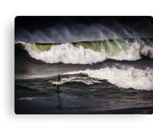 Bells Beach Surfing Canvas Print