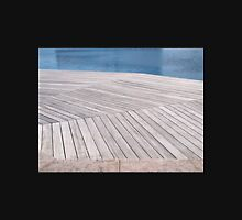 Beautiful  wooden jetty dock deck Unisex T-Shirt