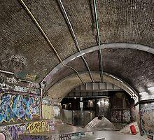 Graffiti Skate Park by thirdiphoto