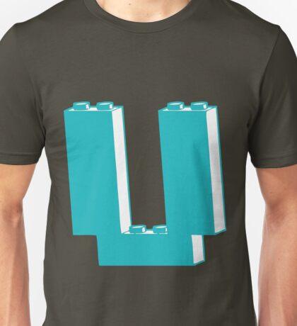 THE LETTER U Unisex T-Shirt