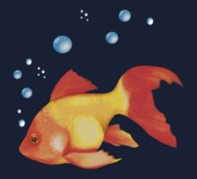 Goldfish Bubbles by SpiceTree