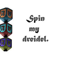 Spin Me Photographic Print