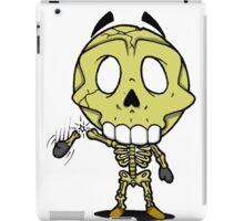 Halloweenies Skeleton iPad Case/Skin