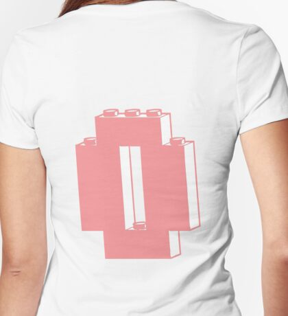 THE LETTER O  Womens Fitted T-Shirt