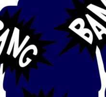 Minifig BANG BANG BANG Sticker