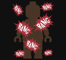 Minifig BANG BANG BANG  Kids Tee