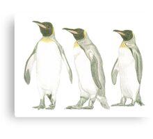 """""""Penguins"""" Canvas Print"""