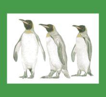"""""""Penguins"""" Baby Tee"""