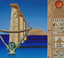Abu Simbel by Howard Gregory