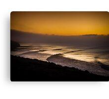 Bells Beach Golden Glow Canvas Print