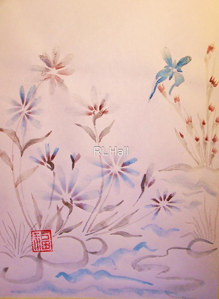 Oriental Water Garden by RLHall