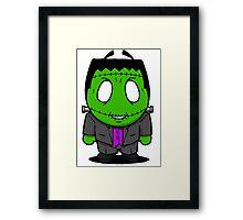 Halloweenies Frankenstein Framed Print